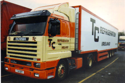 54feb4c4c1f162 No. 4 Historic Collection T.C. REFRIGERATION Scania 143 450 with ...