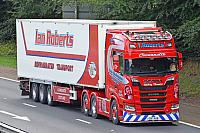 I.Roberts Scania S730 with fridge