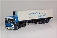 Spronen scania 141 with tandem reefer