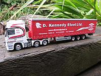 D.Kennedy Actros with curtainsider