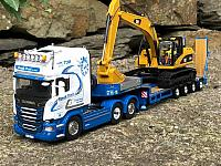 Frank Pratt R730 with Low loader
