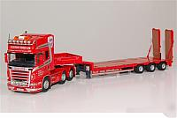 Kirkwood   Scania R 6x4 with low loader