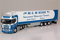 M & M Kerr  Scania r 6x4 with reefer trailer