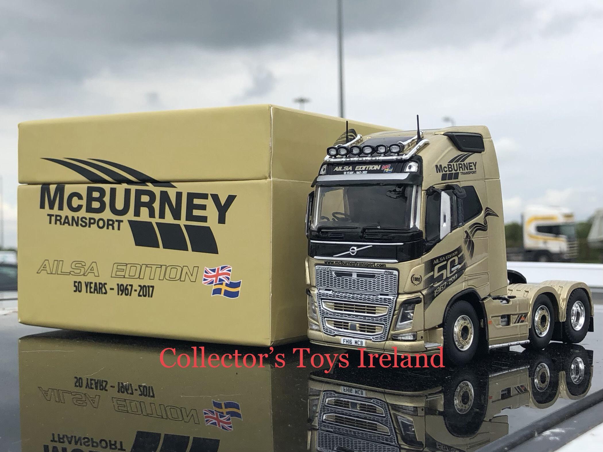 McBurney Transport (Golden Ailsa Edition) - €145